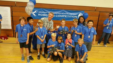 Our Robotics Team Placed 2nd at the NMUSD Competition and Showcase - Thank you  NHES Foundation!
