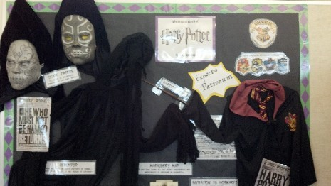 Come See Our Harry Potter Board!