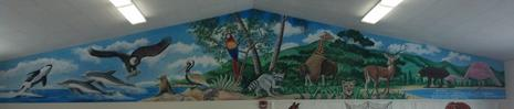 Come see the new Mural!